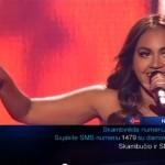 Jess rocks it at Eurovision!